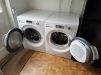 PANASONIC 10kg Washing Machine NA-140VZ4 and Tumble Dryer NH-P80S1