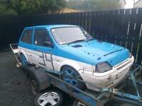 Rover metro Rally/trackday/alltrack /rallycross/autotest car hillclimb sprint cheap bargain !!!