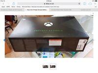 X box 1 x Scorpio special limited edition brand new sealed pristine