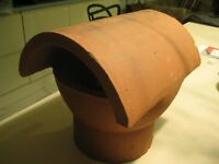 Clay chimney cowl