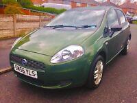 Fiat Grande Punto 5dr 12 month MOT only 72k miles HPI clear