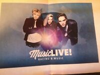 Musical live Racing &Music family Tickets for 3ed Sep 2016 for sale