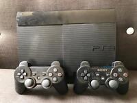 Playstation 3 Super Slim 500gb - plus extras