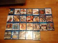 Large blu-ray bundle of 26 films