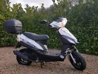 50cc Moped Longjia