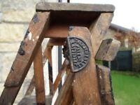 Vintage Hatherley Patent Latistep Stepladders.