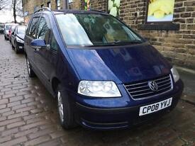 2008 Volkswagen Sharan TDI 1.9 diesel Blue