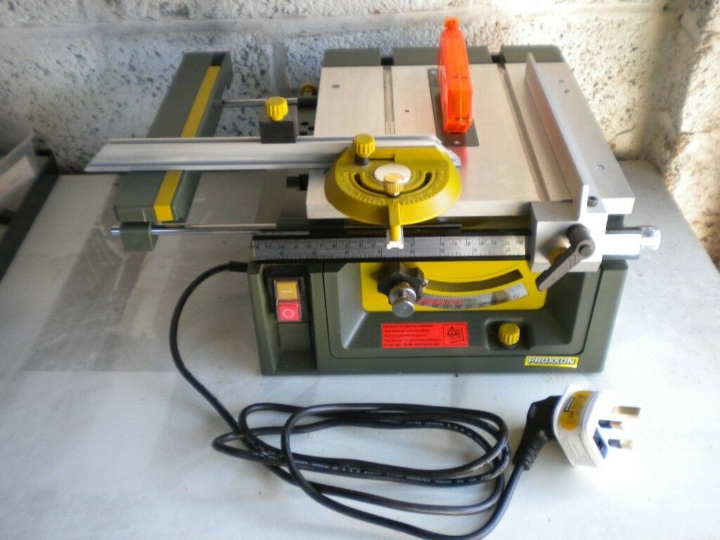 Proxxon Wire Table | Table Saw Proxxon Fet 27070 6 Weeks Old Bargain In