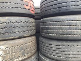Used truck tyres for export 385/65 R22.5