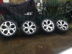 Y spoke 21inch X5/X6 alloys wheels and tyres