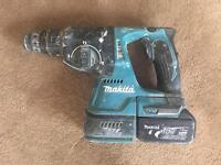 Makita 18v Brushless SDS Hammer drill