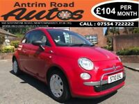 2010 FIAT 500 POP 1.2 ** ONLY 15,000 MILES ** FULL FIAT SERVICE HISTORY ** FINANCE AVAILABLE