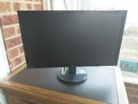 "Acer K242HL 24"" LCD computer monitor - great monitor with small fault"