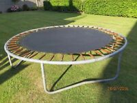 8 ft TRAMPOLINE - WITH SAFETY NET.