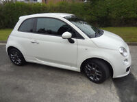 FIAT 500 S 1.2L PETROL LOOKS AND DRIVES LIKE NEW CHEAP RUNER