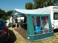 Awning for caravan by DOREMA. Immaculate.
