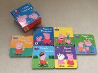 Peppa Pig mini library