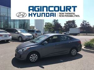 2015 Hyundai Accent GL/HEATED SEATS/ONLY 44404KMS!!!