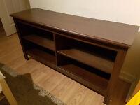 IKEA Brusali dark brown TV bench