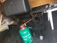Gas BBQ with free gas cylinder