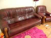 Vintage Style Sofa and Armchair in excellent condition