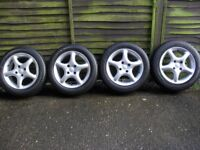 Refurbished VW Golf / Polo TSW Alloy Wheels And Tyres.