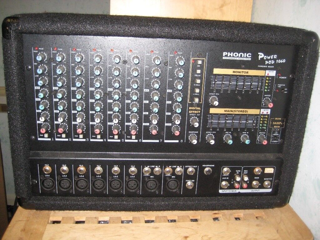 Phonic Powerpod 1060 Powered Mixer