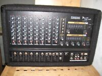 PHONIC POWERPOD 1060 PA Mixer Amp With Built in Monitor Amp 600W