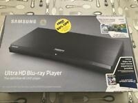 Brand new - Samsung Ultra HD Blu-ray Player