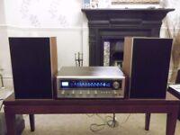 Classic Pioneer SX-434 AM/FM stereo tuner-amplifier - free Solavox TK20 speakers (until 16th Dec.)