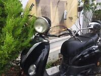 Spares or Repair Lexmoto Valencia 50cc Retro scooter