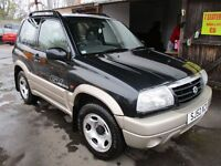 2002 52 SUZUKI GRAND VITARA 1.6 SE 4X4 LOW 97K LONG MOT 02/17 LOVELY EXAMPLE ROOF BARS PX SWAPS