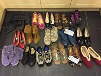 16 Ladies Shoes Boots & Slippers sizes 4 to 5:1/2