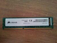 CORSAIR — 4GB DDR3 SODIMM Memory