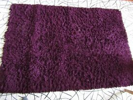 Plush fashion rug X large
