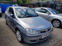 55 reg Vauxhall Corsa full 12 months mot