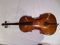 Stentor MK I 1/2 size cello outfit