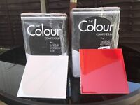 13 boxes of White and Red tiles for sale brand new