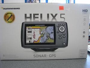 HUMMINBIRD HELIX 5 SONAR-GPS W/NAV CHIP