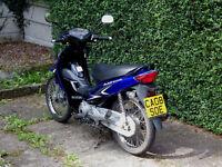 SUZUKI ADDRESS 125cc, motorbike