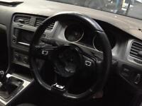 Vw golf R mk7 Dsg paddle shift flat bottom steering VW caddy