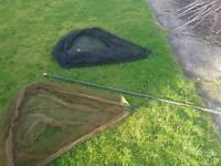 Fox 42 inch landing net x2 and carbon fox pole