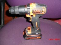 Black & Decker Lithium drill