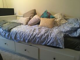 Ikea day bed and 2x mattress