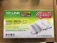 TP-Link TL-WPA4220T Powerline Wifi & Ethernet Kit