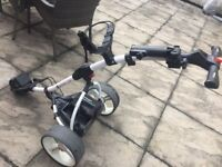 Motocaddy S1 Golf Electric Trolley with Motocaddy Lithium 27 Hole Battey & Charger