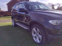 BMW X5 3.0d SPORT SUV EXCELLENT CONDITION LEATHER INTERIOR ALLOY WHEELS SATNAV TV CHEAP PX WELCOME