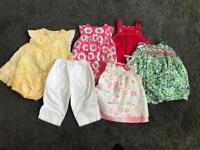Bundle girls 6-12 Months clothes - designer