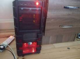 Gaming PC with all peripherals