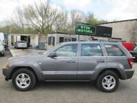 JEEP GRAND CHEROKEE 3.0 CRD Limited 5dr Auto (grey) 2005